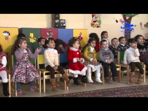 عيد الميلاد المجيد مع أطفال روضة الأم كاترينا