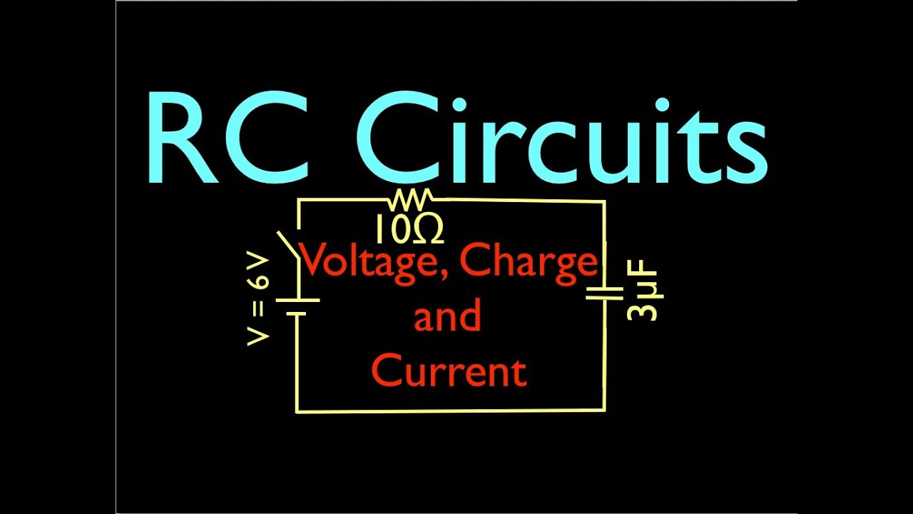 Rc Circuit Analysis 1 Of 8 Voltage And Current Youtube Series Ac Rl Rlc Circuits Apseeecom