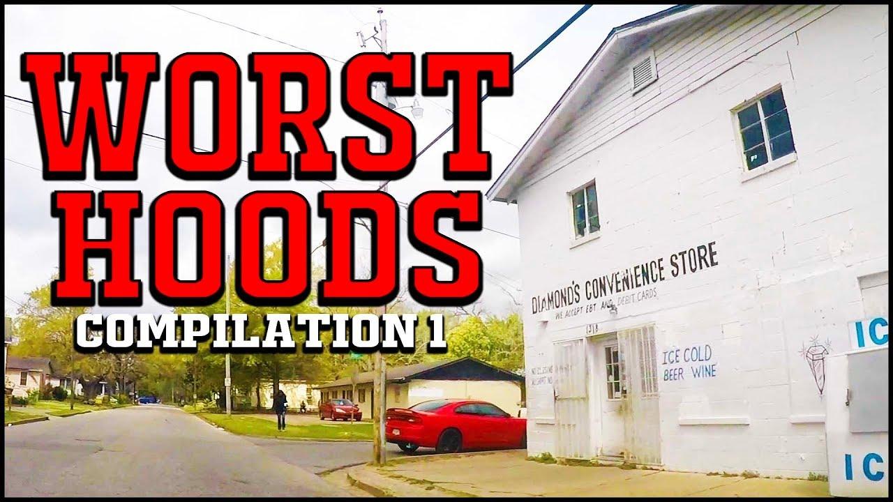 The WORST Ghettos & Hoods in the USA