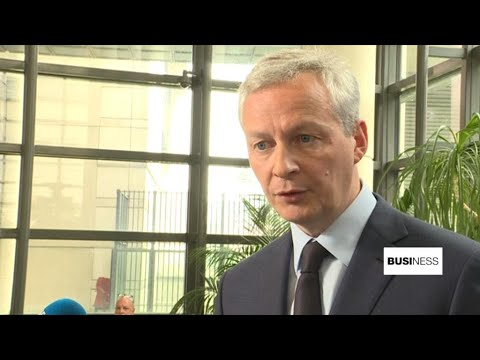 Le Maire to France 24: EU needs to protect business interests in Iran