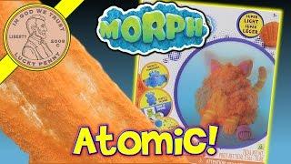 Morph Compound - Morph It, Mold It, Bounce It & Float It! - Atomic Tangerine