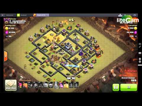 CoC CLash of CLans 3 star war