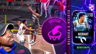 110 OVR HALLOWEEN MASTER JA MORANT IS SCARY! NBA Live Mobile 20 Season 4 Gameplay Ep. 95
