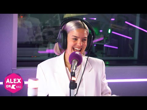 Anne Marie talks new  hanging out with EdSheeran and working with Lauv 🎶