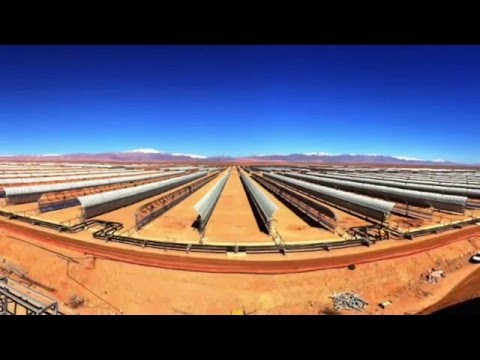 World's largest concentrated solar plant switches on in the Sahara