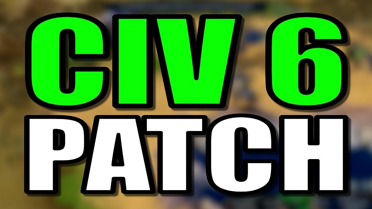 Civilization 6 Fall Patch! [CIV 6 UPDATE]