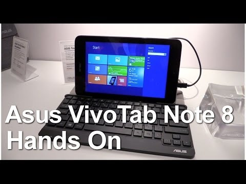 Hands on of the ASUS Vivotab Note 8