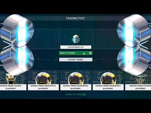 Warframe Trade Chat Pt9 | How To Make Offers