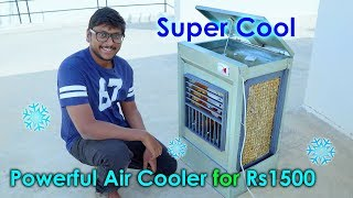 How to Make a Powerful Air Cooler at Home under 1500 Rs...