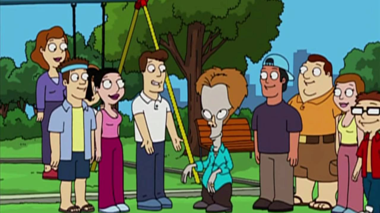 06f1cb6687f American Dad - Roger as Kevin Bacon - YouTube