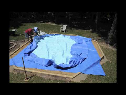 Assembling A Summer Escapes 17x48 From Dirt To Filling In Under 60 Seconds Youtube