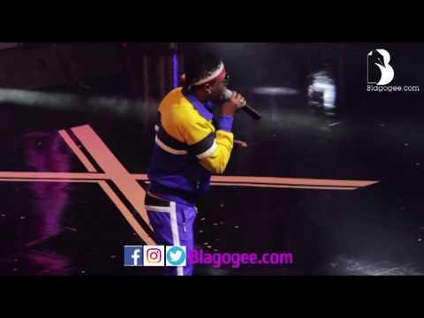 Wizkid Patoranking Mr. Eazi Performance At Becca 10 Years Concert