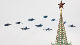 video: Russia, hit by coronavirus, marks Victory Day in subdued ceremony