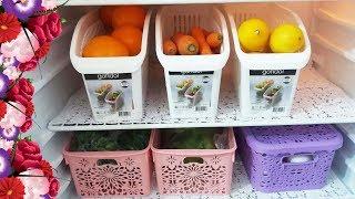 Daha Düzenli Dolaplar İçin Mutfak Düzenleyicisini Denediniz mi-Buzdolabı Düzeni