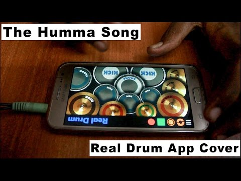 The Humma Song - OK Janu (Real Drum App Cover).