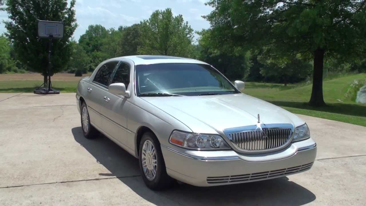 Hd Video 2006 Lincoln Town Car Signature For Sale See