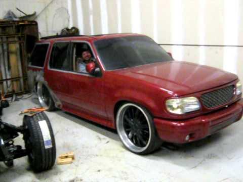 Ford F150 Rims >> 1997 Ford Explorer 24s Air Bags Rims Custom Paint - YouTube