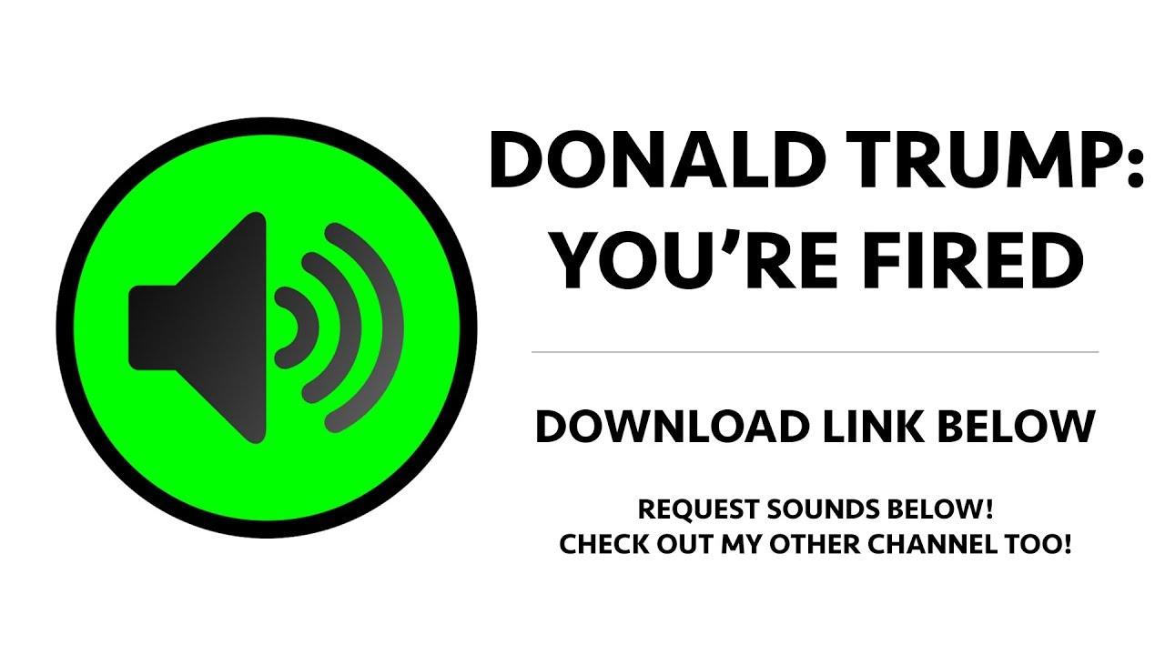 donald trump soundboard download