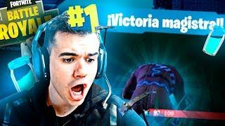 MI PRIMERA VICTORIA + MEGA FAIL 😂 | FORTNITE #3