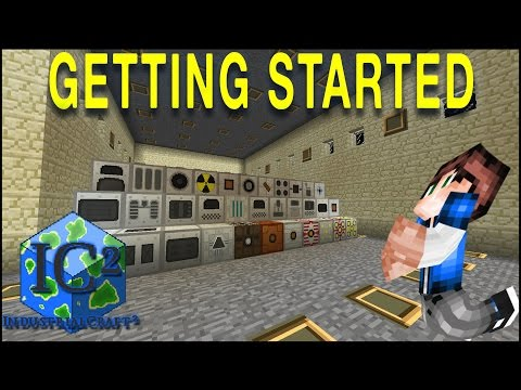 getting started industrial craft