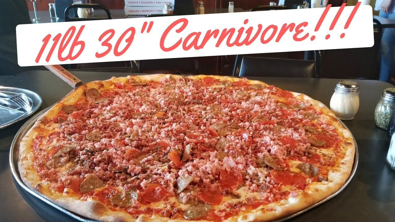 "Download Big Pie in the Sky 30"" 11lb Team Pizza Challenge with Matt Sweet Tooth Cohen"