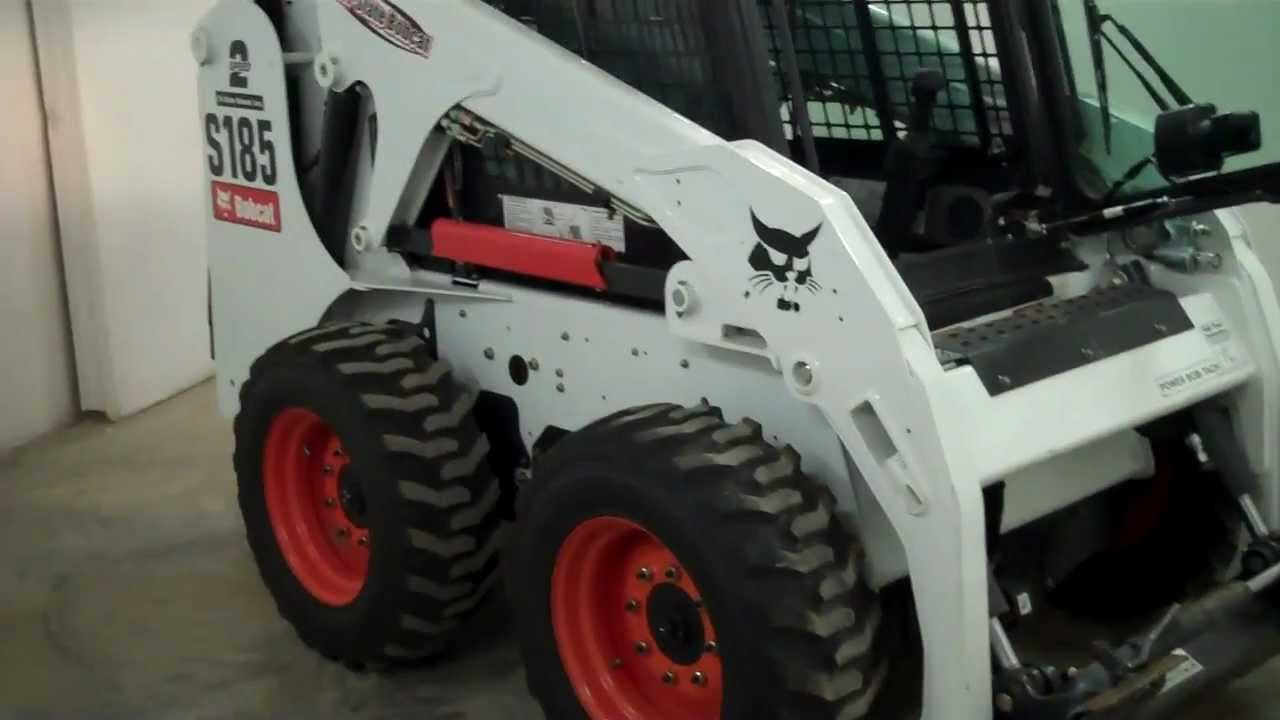 SOLD! 2011 Bobcat S185 170 HOURS! High Flow - ACS -2- Speed Jeff at  Tri-State Bobcat 715-781-3940