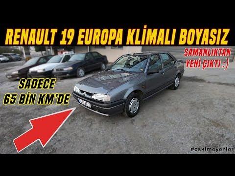 65 BİN KM'DE BOYASIZ R19 EUROPA | SAMANLIK'TAN YENİ ÇIKTI :)