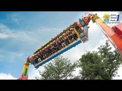 Wahana Ekstrim: Flying Tornado - Jatim Park 1