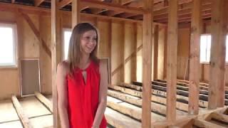 Денег не хватает, а строить надо!?  Обзор жилого дома от Кати.