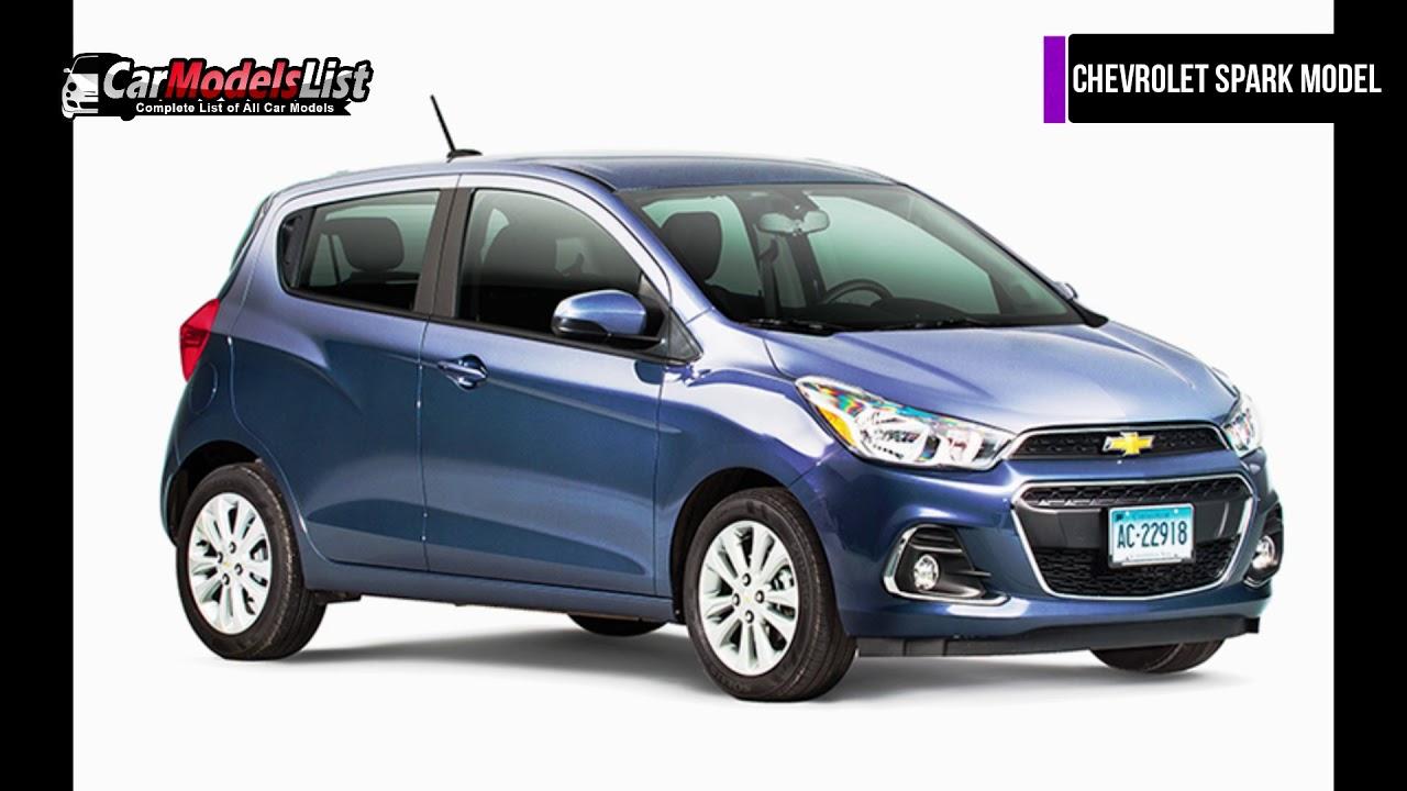 Chevrolet Spark Car Model | Detailed review of Chevrolet