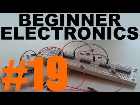 Beginner Electronics - 19 - Capacitors