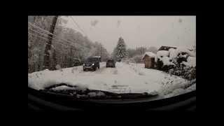 jeep sous la neige