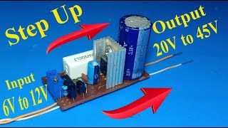 50W Step up , 6V to 30V DC to DC step up boost converter