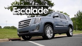 2015 Cadillac Escalade  | Review | Test Drive