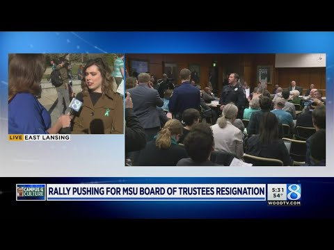 'Rally for Resignations' taking place at MSU