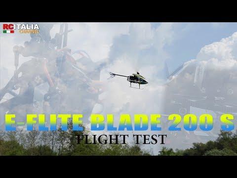 E-flite BLADE 200 S RTF CON TECNOLOGIA SAFE - Flight test