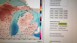 A chilly Oct. 17, 2018 weather forecast for Michigan