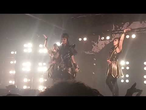 Babymetal World tour 2018 Nashville...until my phone died