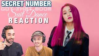 Secret Number (시크릿넘버) - Got That Boom Suit Dance (수트댄스) REAC…