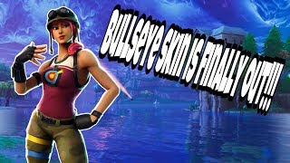 Fortnite - Bullseye skin finally out + First game of the month | live gameplay