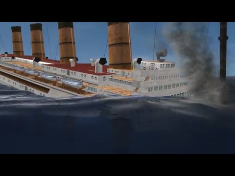 The Very Dramatic Sinking Of the RMS Lusitania on Silent Hunter