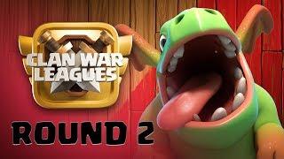 Clash of Clans Live | Clankriegs Liga Runde 2 | Rathaus 12 Aktion | coc deutsch