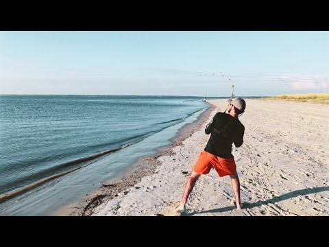 STUNG BY A STINGRAY!!! (Tybee Island Shark Fishing Part 1)