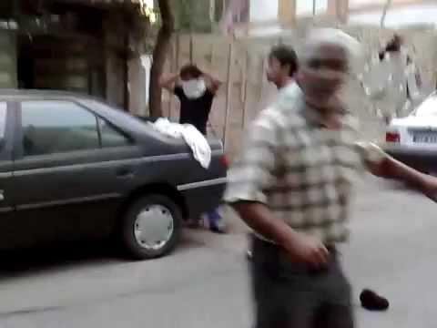 Iran after election 2009 (Basijis are shooting at civilans )