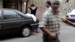 Iran after election 2009 (Basijis are shooting at civilans )