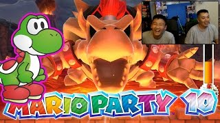 Dang!!! Yoshi Cheating!!! - Mario Party 10 [Chaos Castle] Wii U Gameplay, Commentary