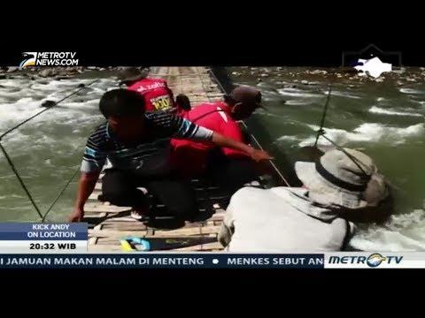 Tedi Ixdiana Komandan Vertical Rescue Indonesia Ekspedisi Bangun 1000 Jembatan