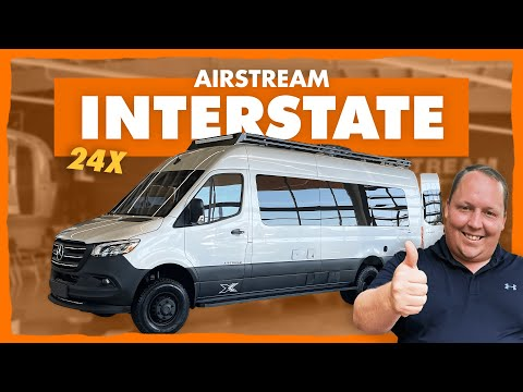 Airstream NEWEST OFFROAD Class B Van with 4x4!