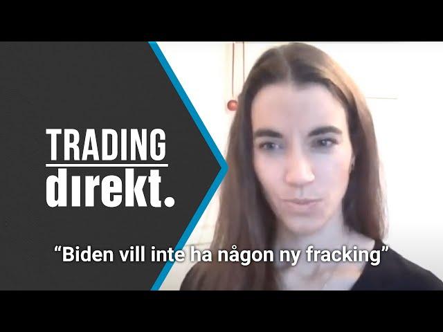 Trading Direkt 2021-01-08: Johanna Kull om grönblå våg, Sean George om USA och DUBBEL TA från Tobbe