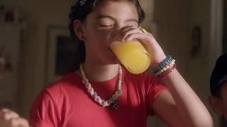 Novo Tang. Mais sabor de fruta. Baixo em Açúcar.
